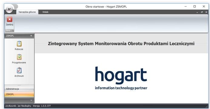 Zintegrowany System Monitorowania Obrotu Produktami Leczniczymi
